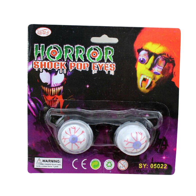 Tricky Easter Halloween Zombie Scarry Party Deco Horror Fake Plastic Half Round Eyes Eyeballs