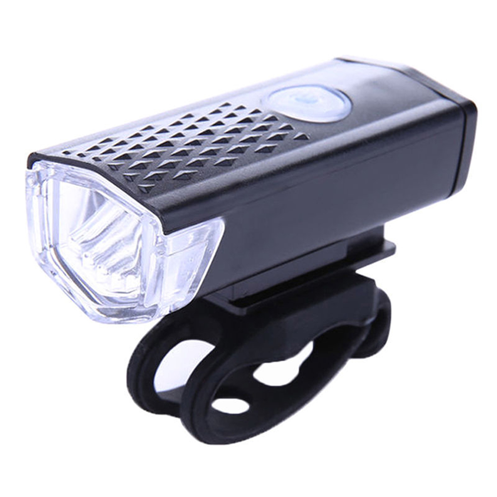 300LM Cycling Bicycle LED Lamp USB Rechargeable Bike Head Front Light Torch New фото