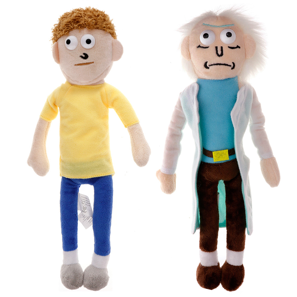 Rick and Morty Rick Plush Toy Stuffed Toys Birthday Gift