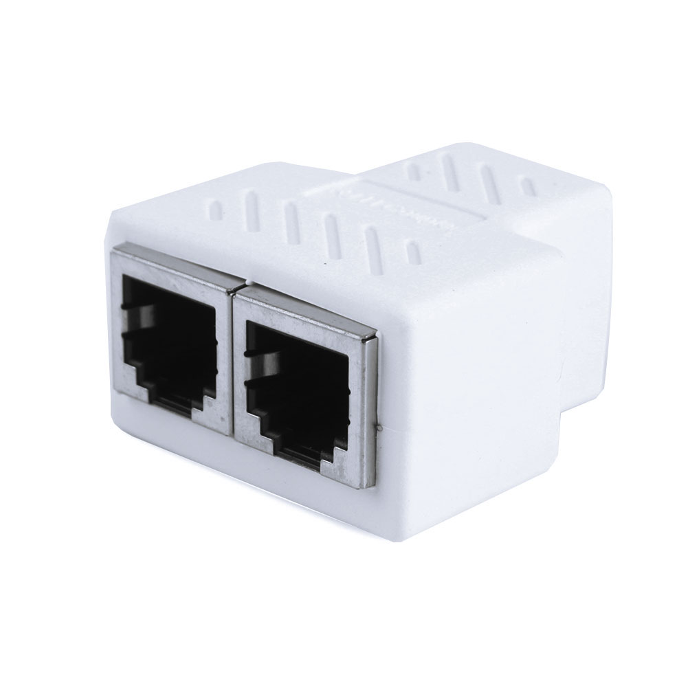 RJ11 6P6C 6P4C 6P2C Female To Female 1 to 2 Splitter PCB Connection Telephone Cable Coupter фото