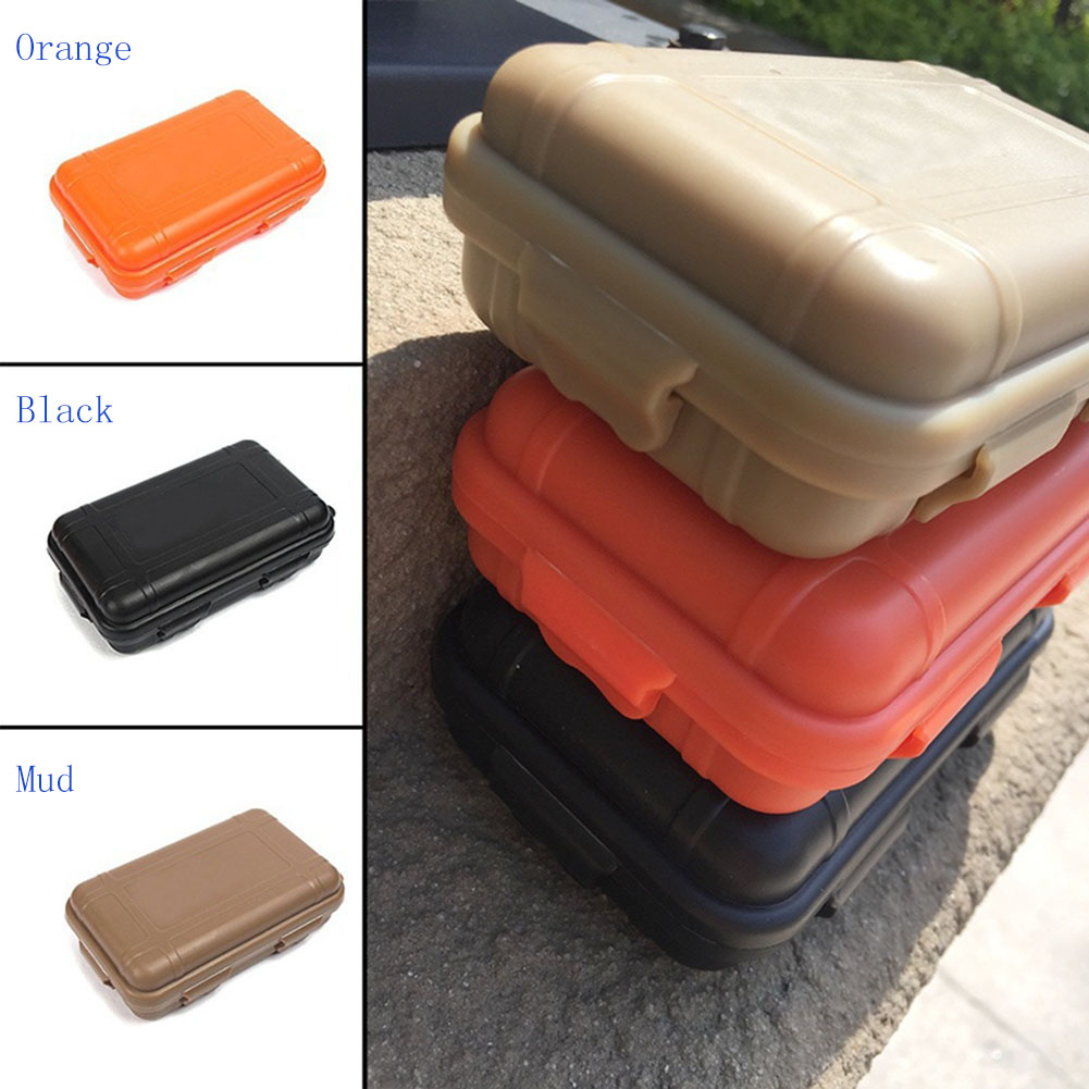 Outdoor Waterproof Box Shockproof Pressure Resistant Seal Containers Survival Case For Storage Travel Kit S/L