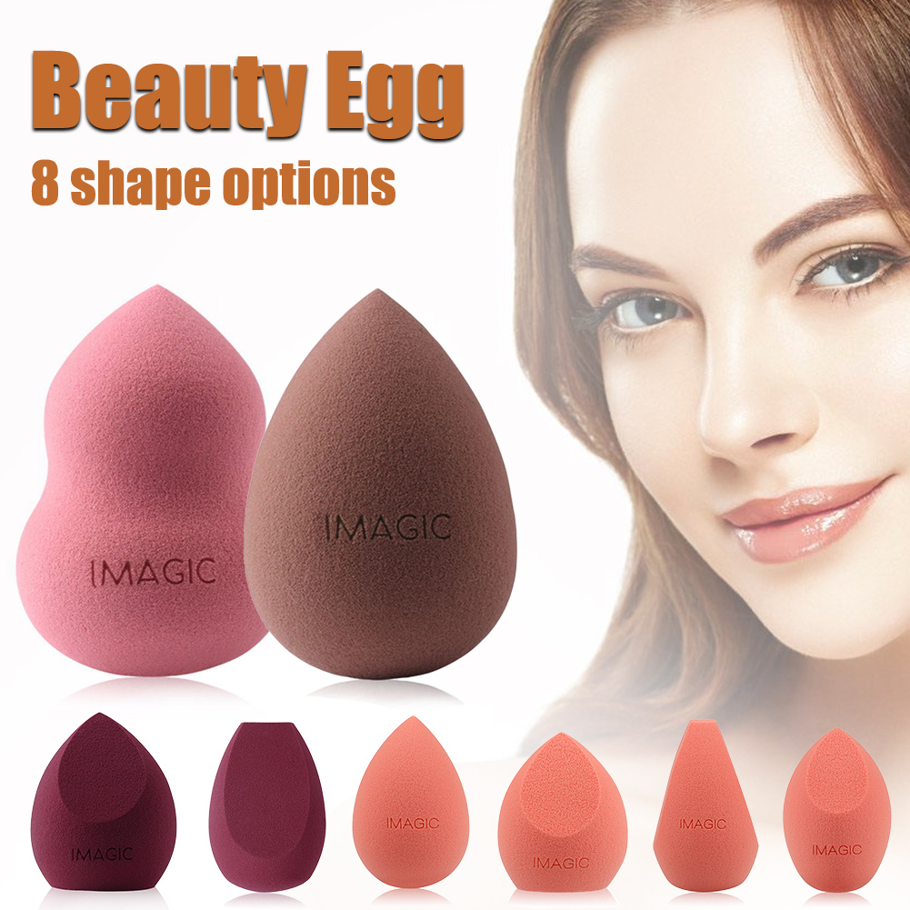 IMAGIC Beauty Egg Makeup Sponge Dry And Wet Make Up Tools Cosmetic Puff Foundation Concealer