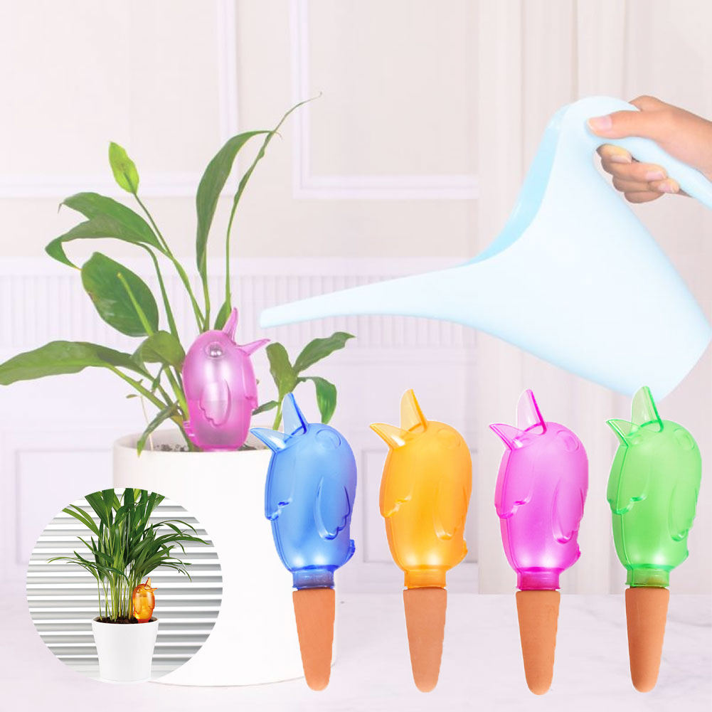 Cute Bird Shape Dripper Automatic Watering Device Water Seepage Device Horticulture Plant Moisture Watering Device
