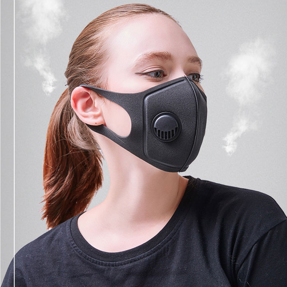 Pollution Mask Military Grade Anti Air Dust And Smoke Pollution Mask With Adjustable Straps And Washable Respirator