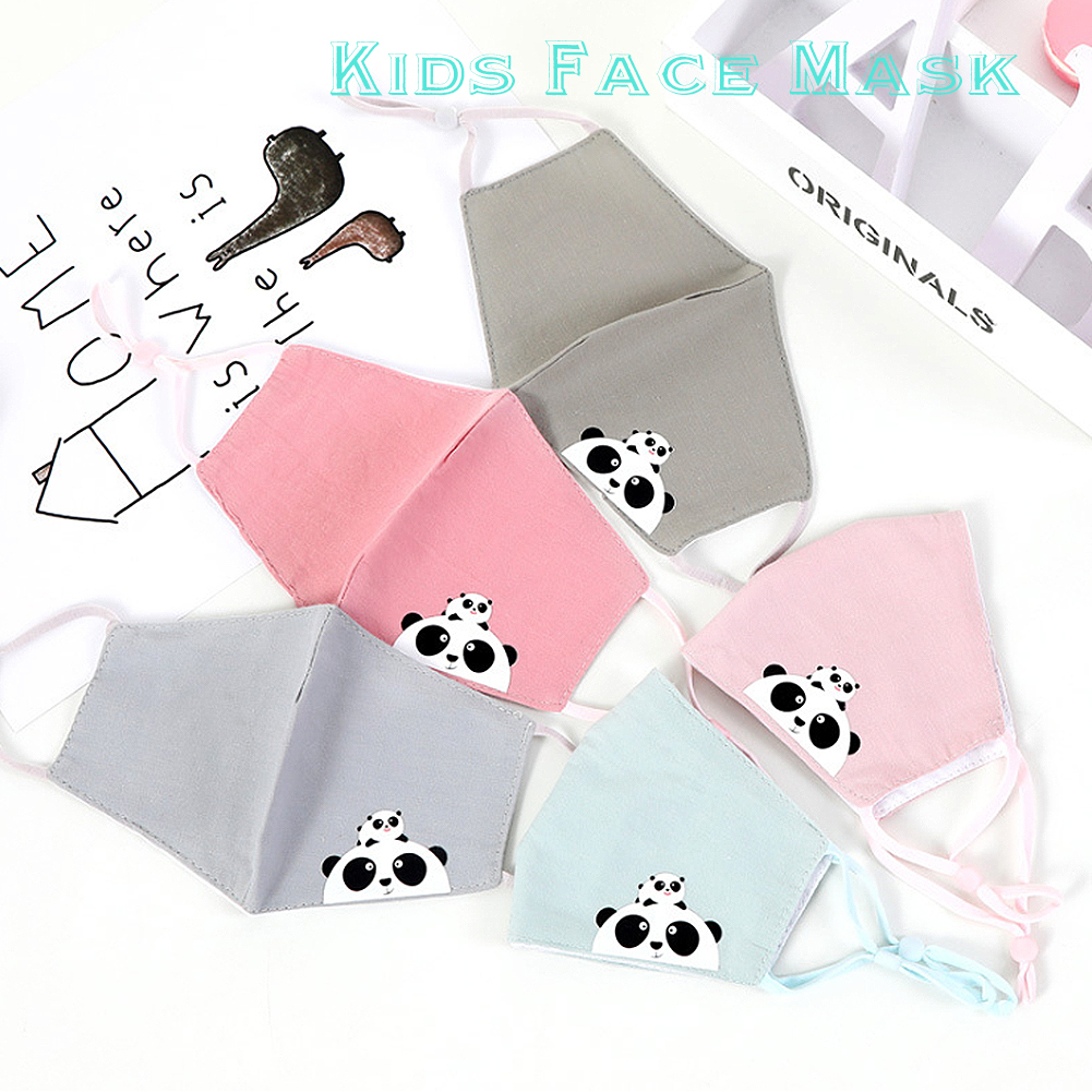 Kids Cute Cartoon Mouth Mask Children Spring Summer Dustproof Protection Cotton Face Mask