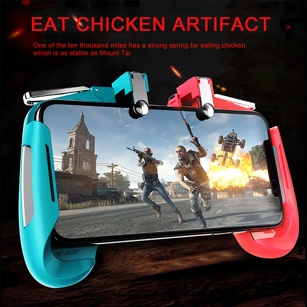 Mobile Game Controllers PUBG Gamepad Game Joystick Game Trigger Game Controller Wireless Remote Controller for iOS Android Phone Colorful