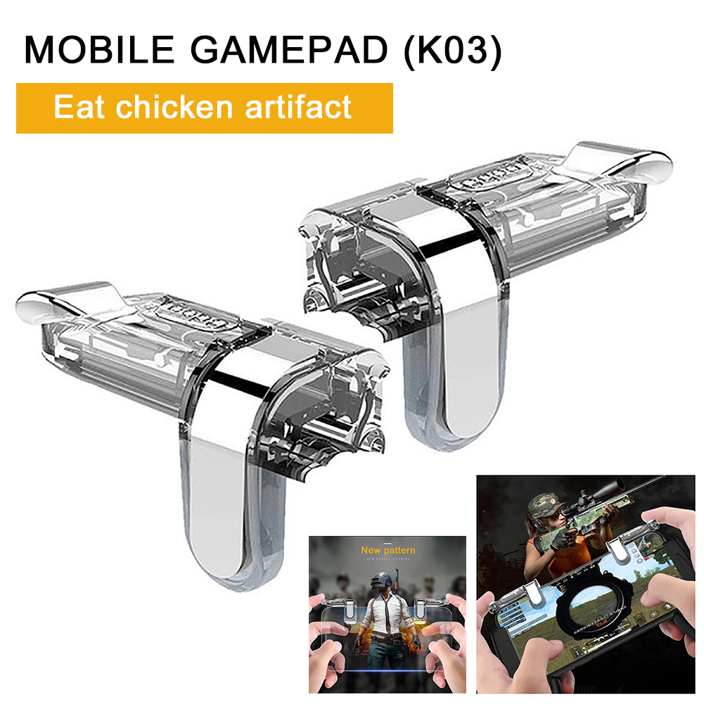 Mobile Game Controller Shooting Button L1R1 Shooting Button Trigger/PUBG/Cutter/Survival Rules for Android iOS System