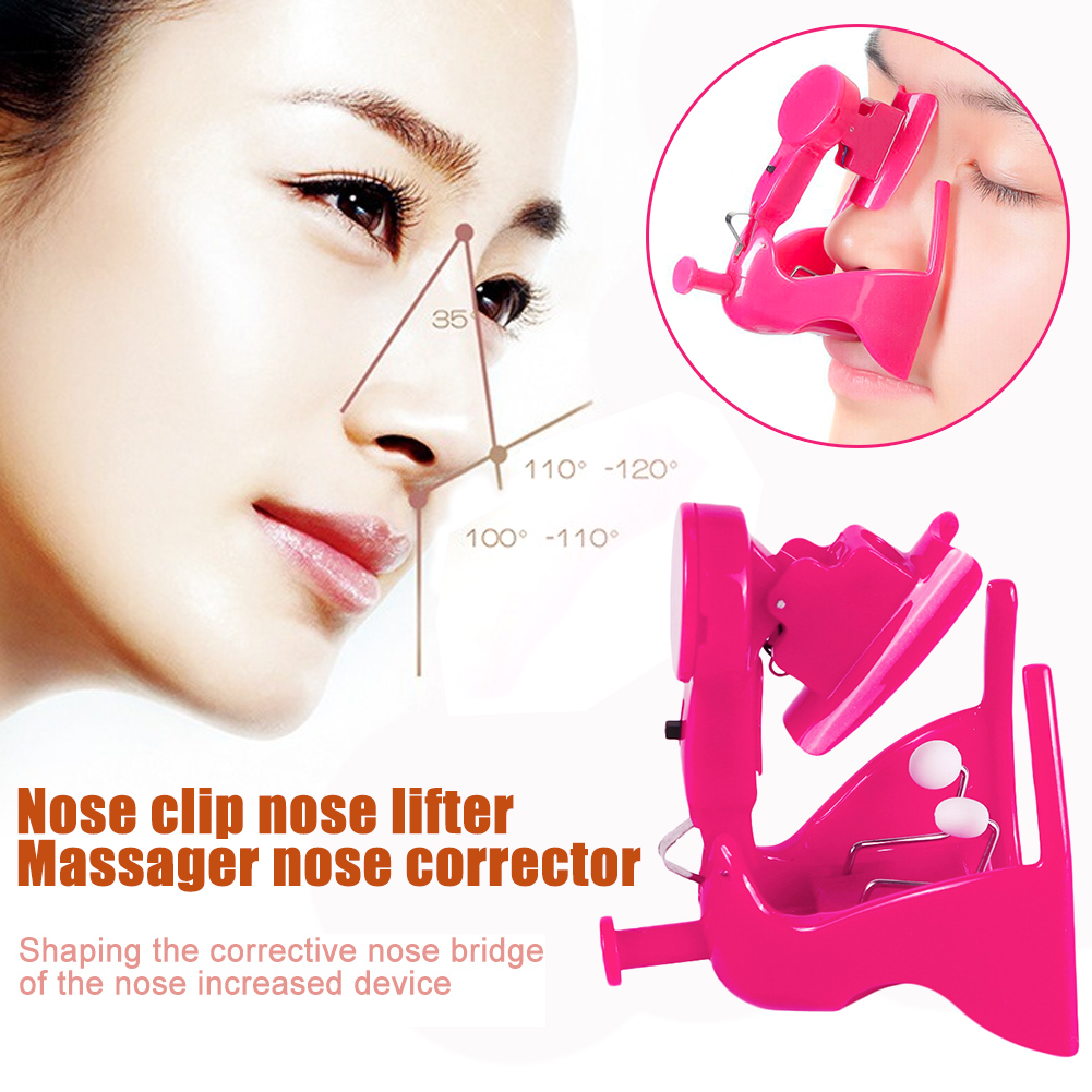 Electric High Nose Up Lifter U Shaping Shaper Lifting Bridge Straightening Silicone Gel Corrector