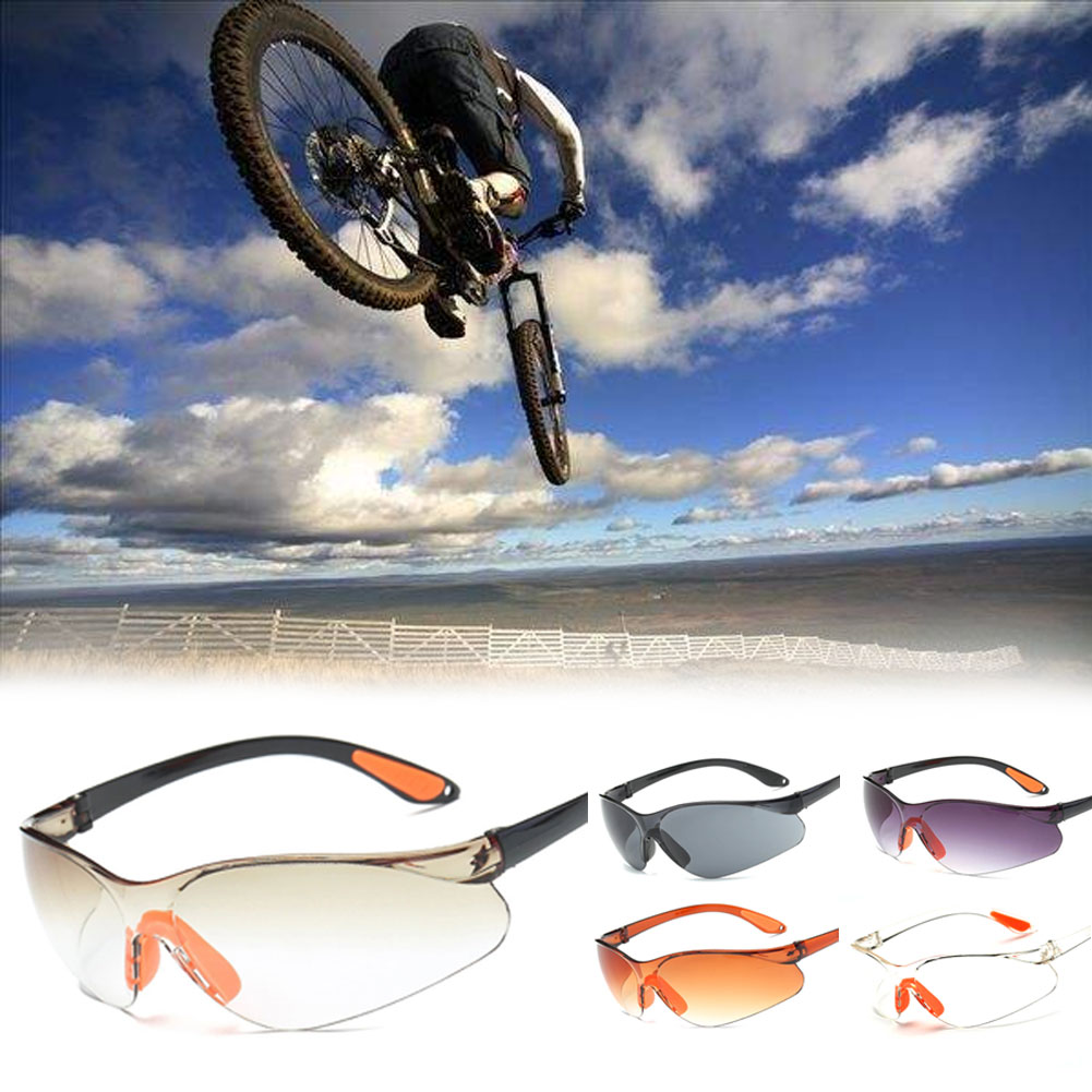 Cycling Glasses Unisex Windproof Eyewear Goggles Bicycle Motorcycle Sunglasses Electric Welding Glasses Outdoor Sport Fishing Hiking Running Driving Eyeglasses